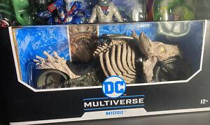 Mcfarlane DC Multiverse Dark Knights Batman Death Metal Batcycle NEW in hand