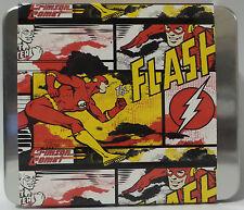 DC COMICS : THE FLASH MENS WALLET WITH COLLECTORS TIN. (TK)