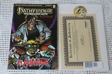 Pathfinder: Worldscape RE-ANIMATOR HORROR Humble Bundle #1 Dynamite NM  w/ COA