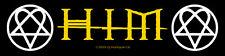 HIM - Patch Aufnäher Superstrip logo Heartagramms
