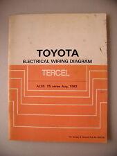 Toyota Electrical Wiring Diagram Tercel AL20 v. 1982