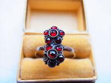 Gründerzeit Granatring Granat  Goldring Ring 333 Gold Fingerring Nr.97