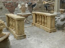 NICE ANTIQUE STONE CARVED MARBLE BALUSTRADES BLSTR1