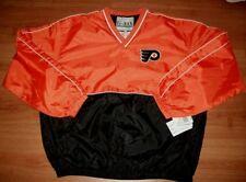 Philadelphia Flyers Pullover Jersey Jacket Large NHL