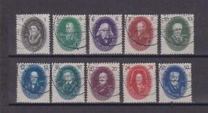 DDR 1950 gestempelt MiNr. 261-270 Deutsche Akademie der Wissenschaften  (3)