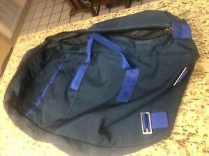 New Strong Enterprises Parachute Bag, Dark Blue w/ Blue Straps, Orlando, FL