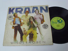 KRAAN Wiederhoren - PORTUGAL LP - UNIQUE SLEEVE - krautrock jazz fusion - RARE