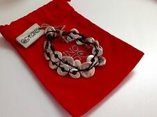 """NWT Uno de 50 Red Leather Silvertone Limited Edition Bracelet  7/"""""""