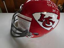 Curley Culp signed T B Chiefs Custom F/S  helmet, JSA, 3 Inscriptions