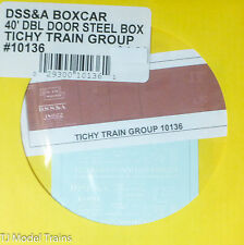 Tichy Train Group #10136 Decal for: Duluth, South Shore & Atlantic 40' Double-Dr