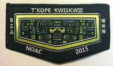 T'KOPE KWISKWIS LODGE 502 BSA CHIEF SEATTLE OA 100th NOAC 2015 CENTENNIAL FLAP