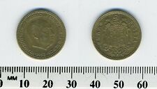 Spain 1953 (56) - 1 Peseta Aluminum-Bronze Coin - Francisco Franco, caudillo -#3