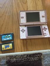 Nintendo DS Lite Metallic Rose Handheld System