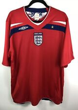 ENGLAND Football Shirt Umbro Away 2008-2010 Size XXL EX COND