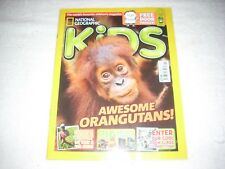 National Geographic Kids Magazine Issue 118 November 2015 Orangutans
