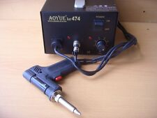 NEW AUTOMATIC REWORK / DESOLDERING STATION / VACUUM PUMP,