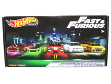 Hot Wheels Fast and Furious Limited Edition 5-Car Premium Set - Multi Color (GJP74)