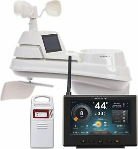 Indoor Outdoor Lightning Detection Weather Station For Home (01210M), AcuRite