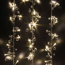 Crystal Chic - 50 LED Indoor String Light Chain - Mains Powered