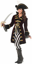 Captain Morgana Womens Pirate Costume Lady Captain Morgan Adult Size XS/SM