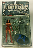 WITCHBLADE. SERIES II. SARA PEZZINI ACTION FIGURE. MOORE COLLECTIBLES