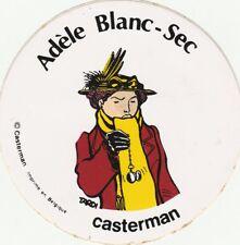 Tardi Adele Blanc Sec  autocollant promo casterman
