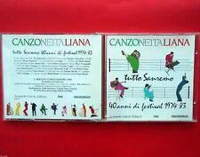 cd,canzone italiana,tutto sanremo,40 anni di festival 1974-83,matia bazar,oxa,d