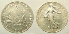 ~~ Roty: 2 Francs Semeuse 1902 - TB+  ~~