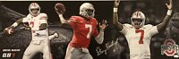Dwayne Haskins Signed Ohio State Buckeyes 1'x3' Panoramic Photo JSA SD63920