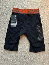 2XU Accelerate Compression Shorts Black/Red Mens Large