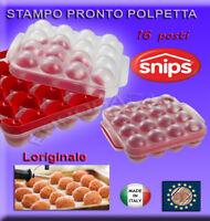Pronto Polpetta snips Stampo per Preparare 16 Polpette in 2 minuti made in italy