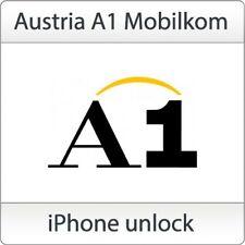 A1 (Mobilkom) Austria Factory Unlock Service (IPhone All Models) Premium
