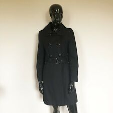 Guess Black Long Coat With Pockets Size Small