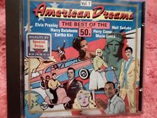 CD  - AMERICAN DREAMS THE BEST OF THE 50s ( TWEEDE-HANDS / USED / OCCASION)