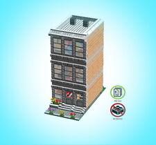 Lego Streethouse & Buffet modular building instruction MOC - PDF - LDD - HTML