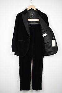 RRP$599 SUITSUPPLY VERONA TUXEDO Men UK36S Peak Lapel Velvet 2-Piece Suit 15389_