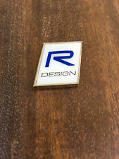 R DESIGN REAR BADGE STICKER VOLVO V40, S60, V60, XC40, XC60, XC90, S90, V90