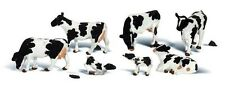 Woodland Scenics A2724 Holstein Cows Set (7 Cows) O Gauge Tracked 48 Post