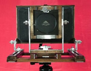 4x10 Large Format Camera (black bellows) (Excluding lens and lens board)