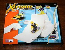 Mega Bloks XTREME SPORTS SNOWZONE Building Set 145 Pieces NEW SEALED 9162