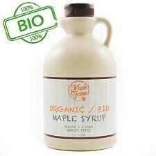 Maple farm ORGANIC maple syrup - Grade A (Dark, Robust taste) - 1 liter,1,35 Kg