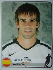 Panini 356 David Albelda FC Valencia Champions Europe 1955-2005
