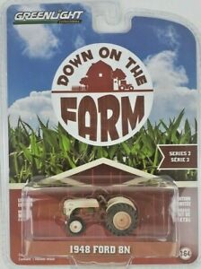 1/64 GreenLight Down on the Farm 2 1948 Ford 8N Dusty Tractor