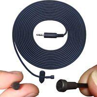 3.5 TRS Stereo Jack Plug High Sensitivity Clip On Tie Lapel Lavaliere Microphone
