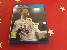 FIFA 18 game for PS4