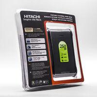 Hitachi SimpleTough 250GB USB 2.0 Portable External Hard Drive 0S00339