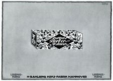 Bahlsen Weihnachten Xl Reklame 1910 Leipniz Pangani Christbau Geschenke Kunst Antiquitäten & Kunst Reklame & Werbung