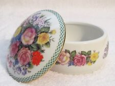"""In The Good Old Summertime"" Danbury Mint Porcelain Music Jewelry Trinket Box"