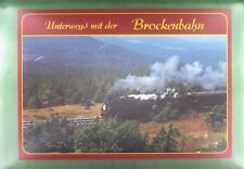 CPA Germany Brockenbahn Railway Eisenbahn Train Locomotive Zug Bahn Treno k890