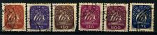 Portugal six 1943 to 1949 Ship Definitives used